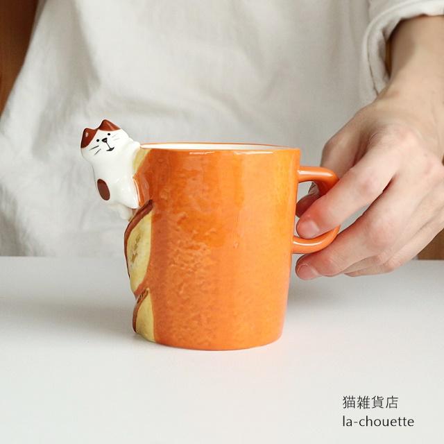 DECOLE大きなパンのマグカップ・バゲット